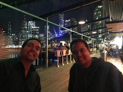 Omar and Omar at Felons Brisbane