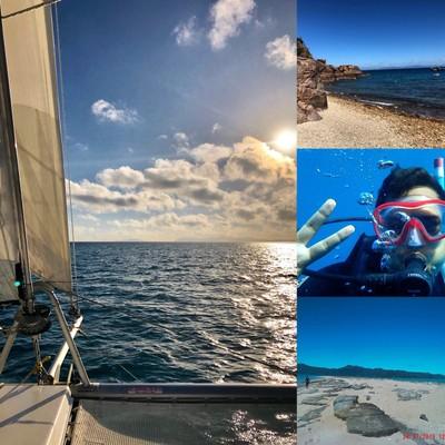 Sailing and diving at Hayman Island