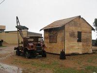 Carnarvon - Heritage Precinct - Old crane truck 02