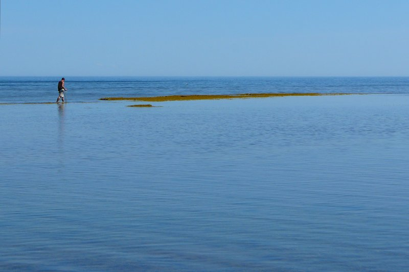 Jesus walk, Anticosti Island, Quebec