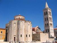 Zadar, Forum and Church