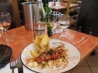 Kerrie's calamari and chorizo in Wine, Cheese & Meat Market
