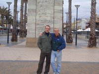 me and uncle jim in glenelg adelaide
