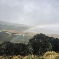 Arc-en-ciel dans le Páramo