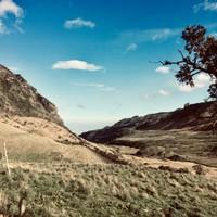 Début de la randonnée (4100 m)