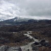 Vue sur le volcan Ruiz