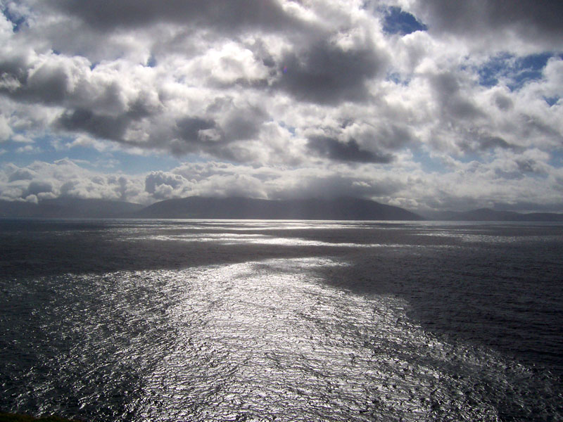 Atlantic, as seen from outside of Dingle