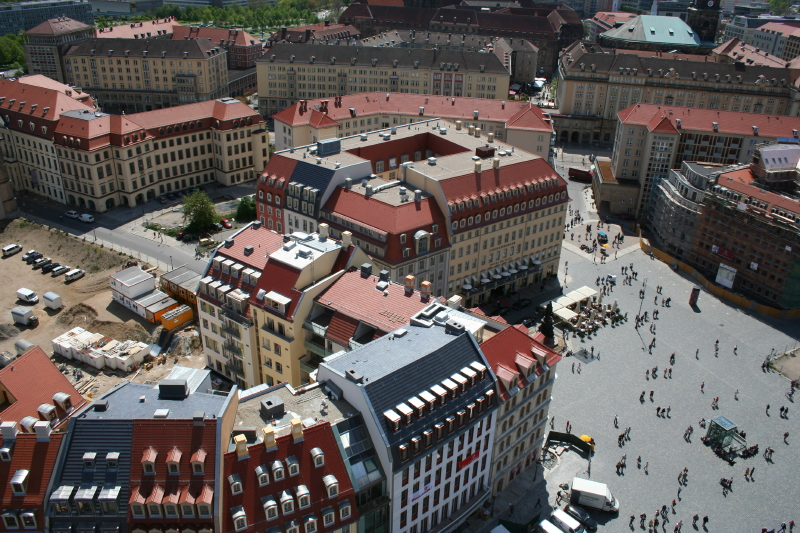 view from frauenkirche