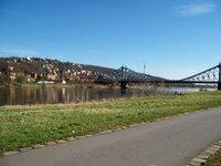Elbe path with Blue wonder
