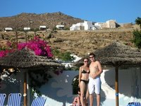 Us in Mykonos