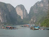 Halong Bay Fishing Village I