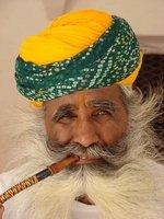 Hookah Smoker at Jodhpur Fort