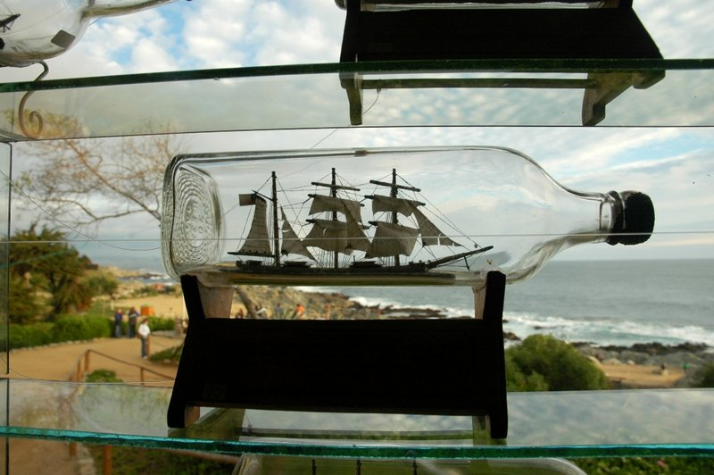 Ship in a Bottle - Isla Negra