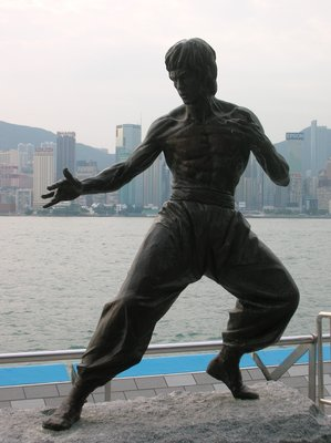 BRUCE LEE STATUE, KOWLOON