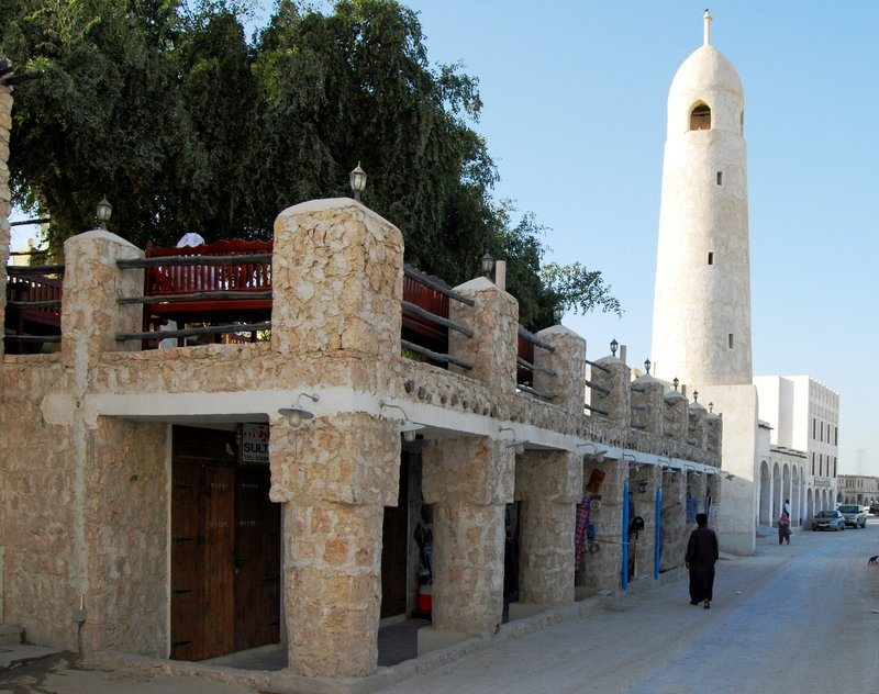 Souk Waqif alley