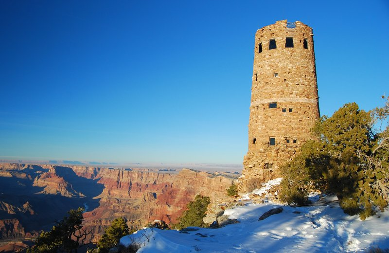 The Watchtower at Desert View