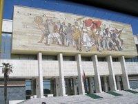 Albanian Mural, Tirana