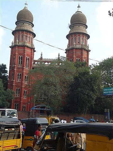 University Building Chennai