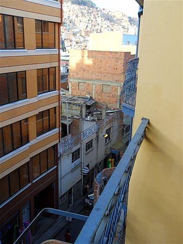 Scary Balcony La Paz