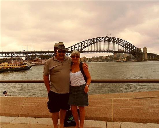Sydney with Mark
