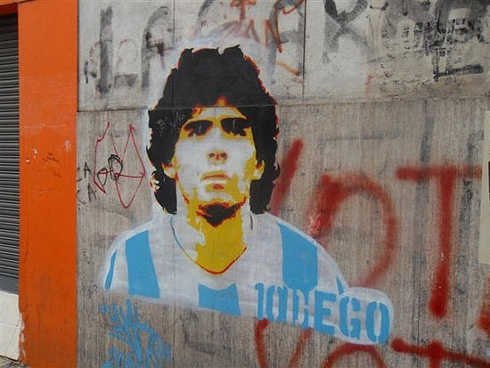 Maradona Grafitti La Boca