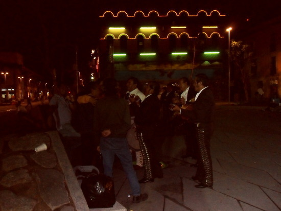 The Mariachis Take on a Gang of Local Youths