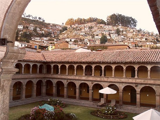 View from the Monasterio