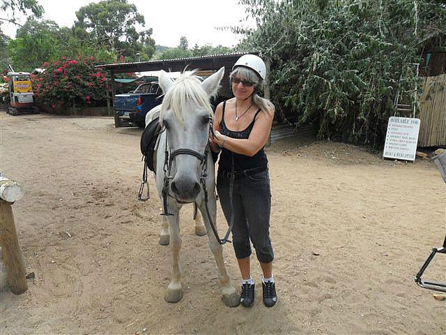 I'm feeling a little horse