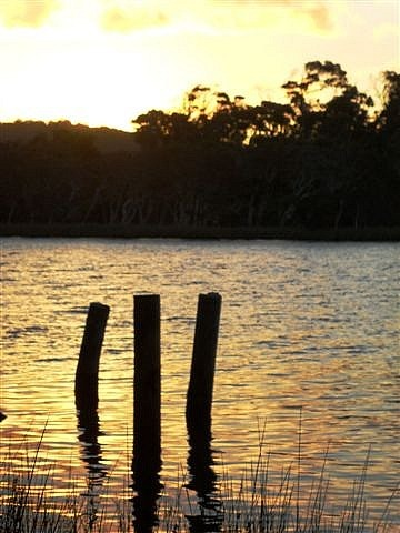 Walpole at Sunset