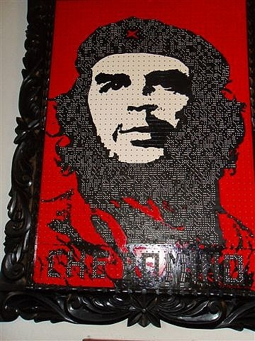 Che Made of Dominoes