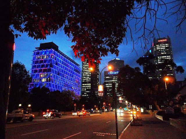 The Amazing Technicoloured Council Building