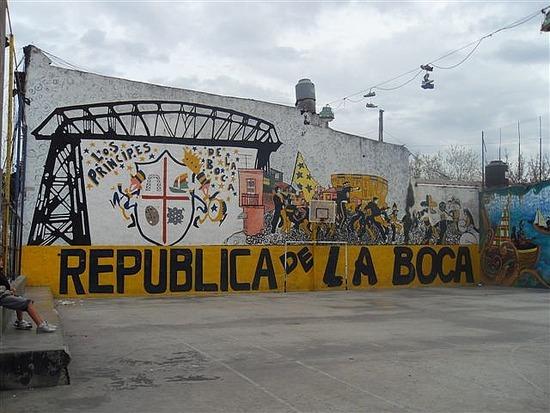 La Boca Rules OK