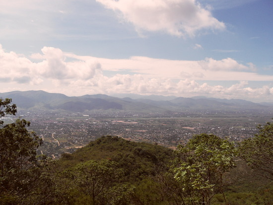 View from Monte Alban