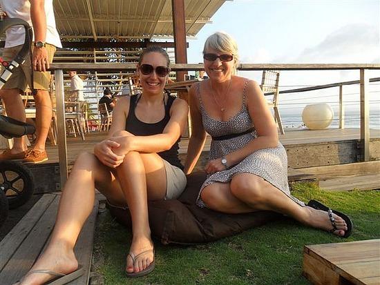Lounging with Lydia at Ku Te Da