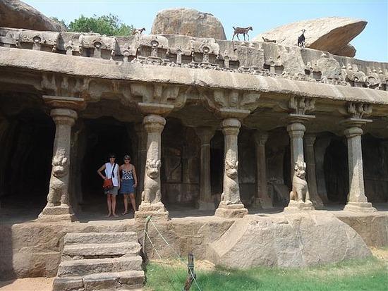 Anjuna's Penance, Mamallapuran