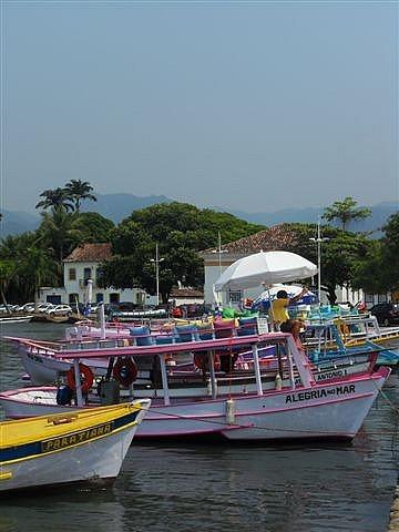 Paraty Harbour