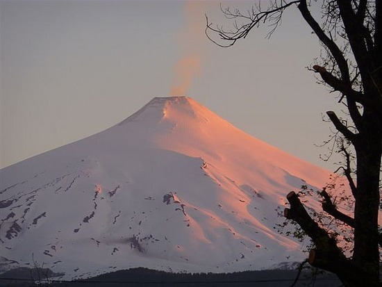 Villaricca Volcano at Sunset