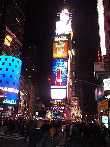 Times Square...Where Else?