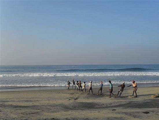 Fisherman, Kovalam Beach