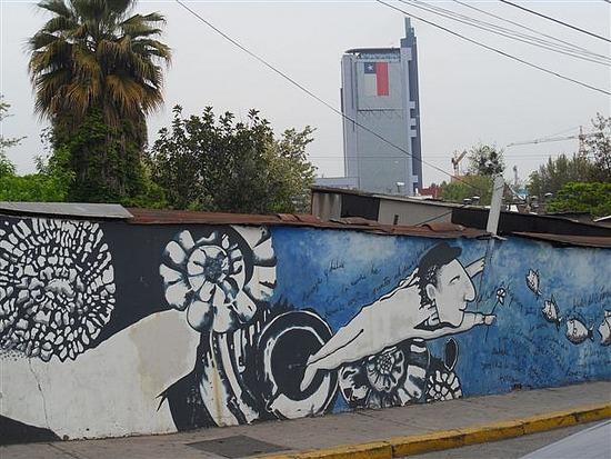 Santiago Grafitti