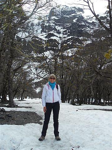Snow! Mount Tronodor