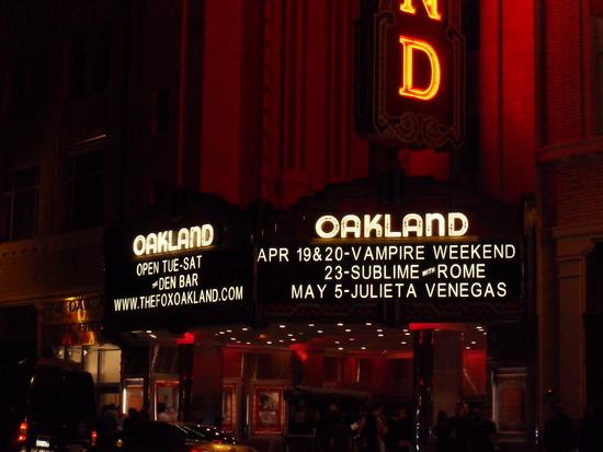 Vampire Weekend Oakland