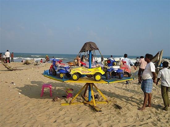 Funfair Ride Marina Beach