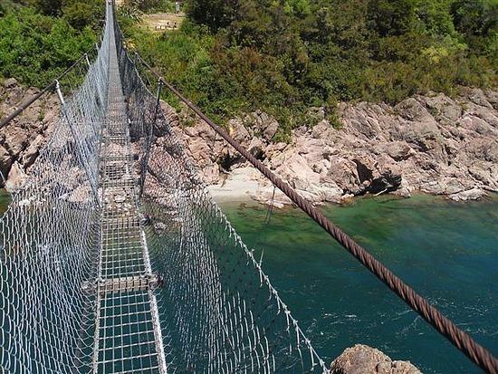 Buller Gorge Swing Bridge