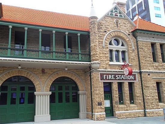 Fire Station, Perth