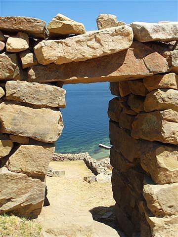 Temple Doorway - Isla De La Sol