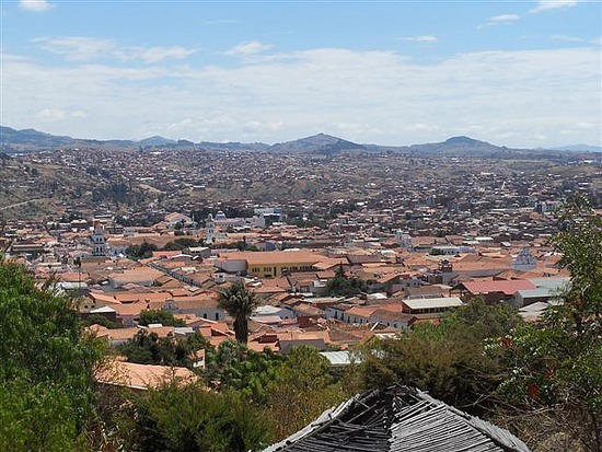View over Sucre