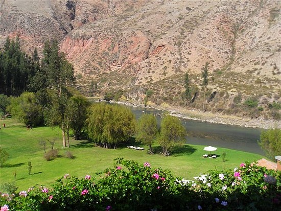 View from our room - Hotel Rio Sagrado