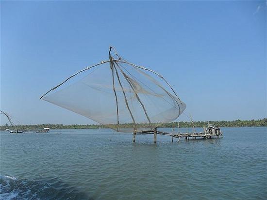 Chinese Fishing Nets, Backwaters Kerala