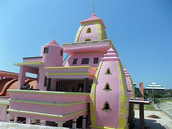 Mr Blobby's Temple, Kanyakamari